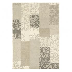tapis beige brink & campman everest patchwork
