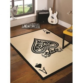 tapis flair rugs ace of spades multicolore