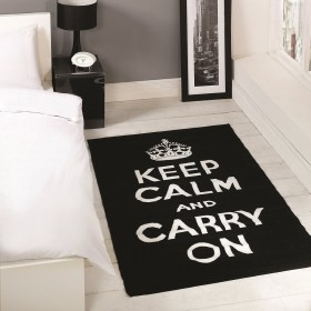 tapis flair rugs carry on noir