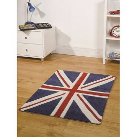 tapis flair rugs mini jack bleu