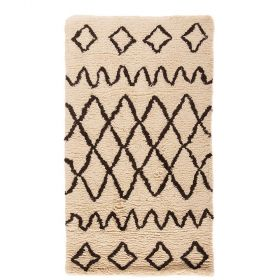 tapis moderne ivoire nile flair rugs