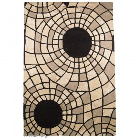 tapis flair rugs radiate beige