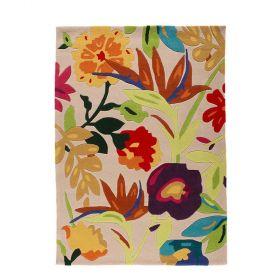 tapis multicolore bird of paradise flair rugs