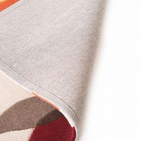 tapis orange phlox flair rugs