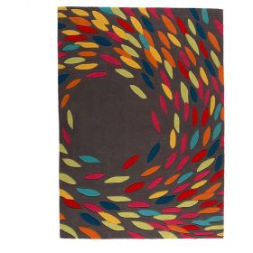 tapis multicolore swirl flair rugs