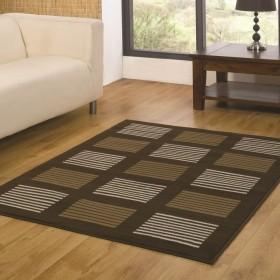 tapis flair rugs 5861 marron