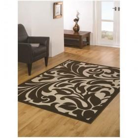 tapis flair rugs warwick marron - Tapis Marron