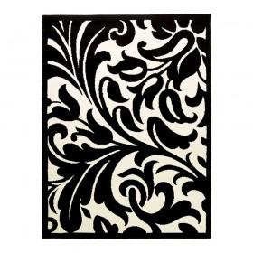 tapis flair rugs warwick noir et blanc