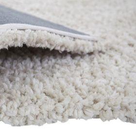 tapis shaggy crème truffle flair rugs