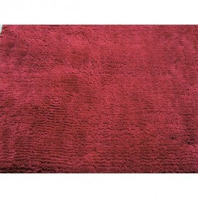 tapis flair rugs glade plain rouge