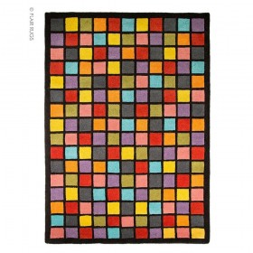 tapis flair rugs campari multicolore