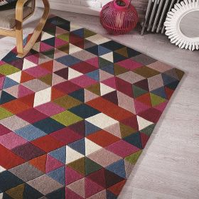 tapis flair rugs prism rose