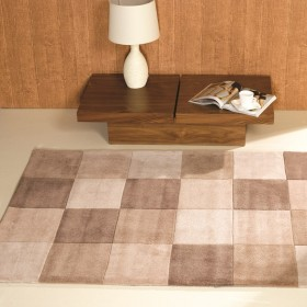 tapis flair rugs squared naturel