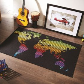 tapis world multicolore funky flair rugs