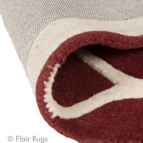 tapis flair rugs fes rouge
