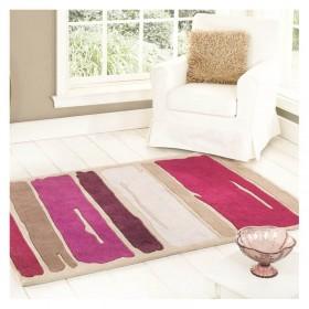 tapis flair rugs paint strock violet