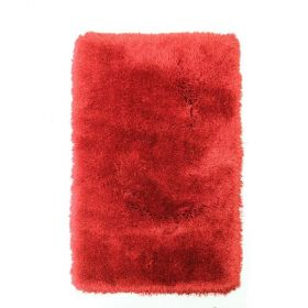 tapis shaggy flair rugs pearl tufté main rouge