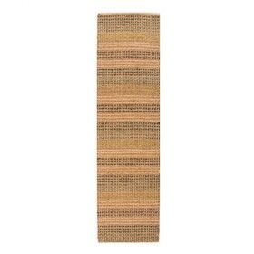 tapis de couloir orange seagrass flair rugs