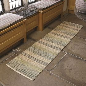 tapis de couloir bleu seagrass flair rugs