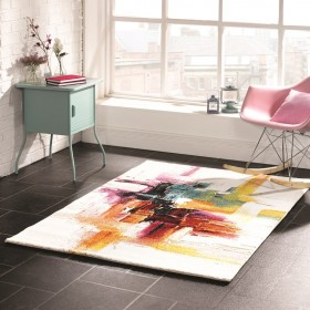 tapis flair rugs sisley multicolore