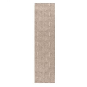 tapis de couloir gris pinnacle flair rugs