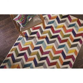 tapis flair rugs multicolore bolero