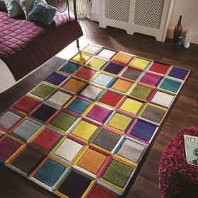 tapis multicolore waltz flair rugs