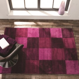 tapis rose violet prune mauve. Black Bedroom Furniture Sets. Home Design Ideas