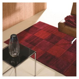tapis flair rugs squared rouge