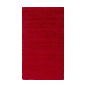 tapis uni rouge siena flair rugs