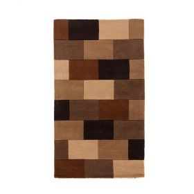 tapis moderne marron elm flair rugs