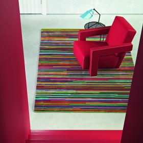 tapis fusion avenue multicolore brink & campman