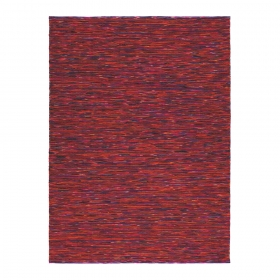 tapis rouge chiné gusto brink & campman pure laine