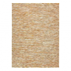 tapis jaune chiné gusto brink & campman pure laine