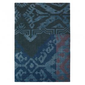 tapis himali grace brink & campman bleu