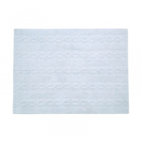 tapis braids soft blue 120x160 - lorena canals