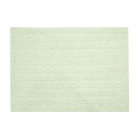 tapis braids soft mint 120x160 - lorena canals