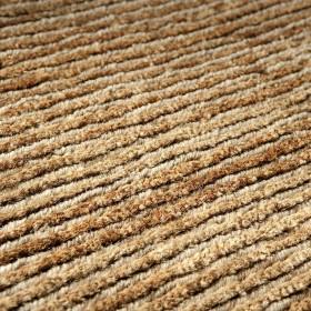 tapis laine indo-népalaise beige transform ligne pure