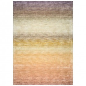 tapis laine tissé main multicolore reflect ligne pure