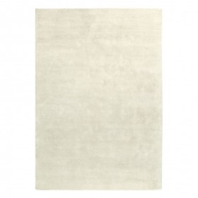 tapis viscose tufté main beige reflect ligne pure