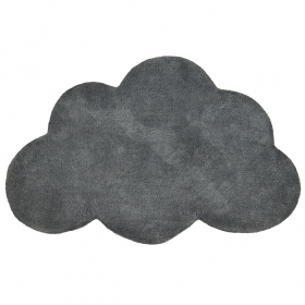 tapis enfant coton nuage gris anthracite lilipinso