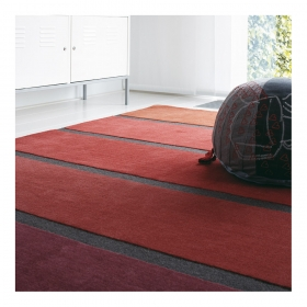 tapis rouge luna stairs brink & campman pure laine