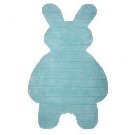 tapis enfant bunny bleu nattiot