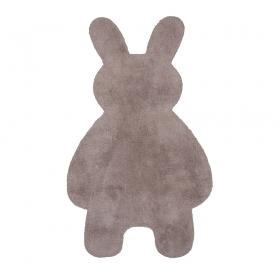 tapis enfant little bunny taupe nattiot