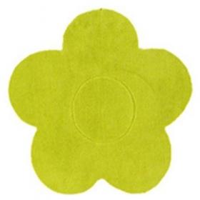 tapis enfant fleur anis