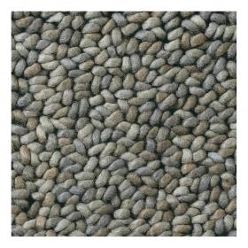 tapis pure laine vierge metal brink & campman gris