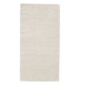 tapis moderne essentials square silky blanc trinity créations
