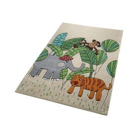 tapis enfant jungle friends smart kids