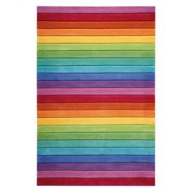 tapis enfant smart stripe multicolore smart kids