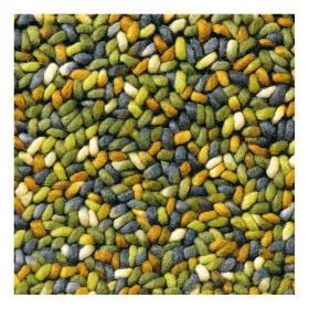tapis pure laine vierge stone vert brink & campman